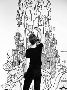 Pop Art, Street art, colorful, grafitti, murals, expressive, abstract paintings, fine art galleries, online art galleries