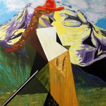painting Mountain Climber paraphrase
