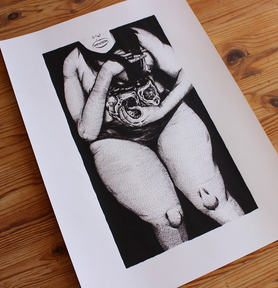 art-prints, gliceé, figurative, monochrome, portraiture, bodies, black, white, ink, paper, black-and-white, contemporary-art, danish, design, interior, interior-design, modern, modern-art, nordic, posters, prints, scandinavien, Buy original high quality art. Paintings, drawings, limited edition prints & posters by talented artists.